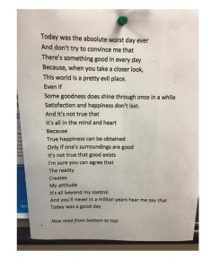 the worst day letter